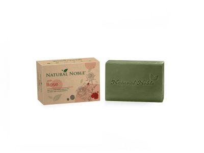 Natural Noble Rose olive and laurel Aleppo handmade vegan soap