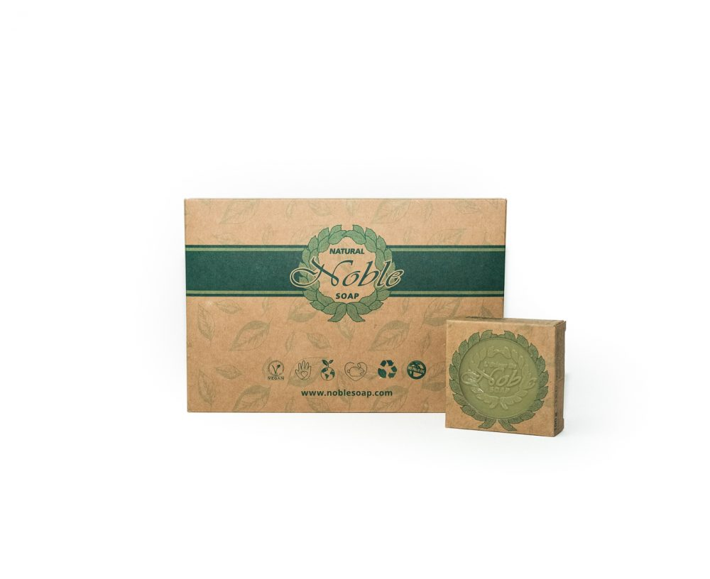 Natural L'Odeur De Noble Soap Gift Box